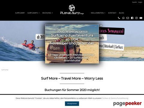 Surfcamp - Surfen lernen in Surfcamps von Wavexperience