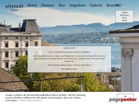 Hotel Altstadt Zurich *** (ZH Kreis 1)