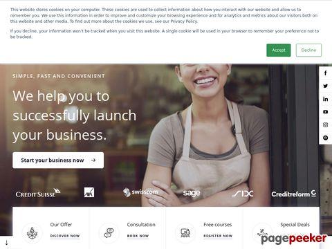 STARTUPS.CH - Online Firma gründen