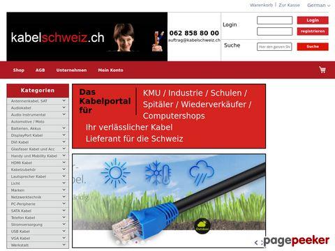 Kabelschweiz - Netzwerkkabel und HDMI Kabel