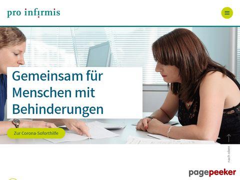 pro infirmis - Die Organisation für behinderte Menschen