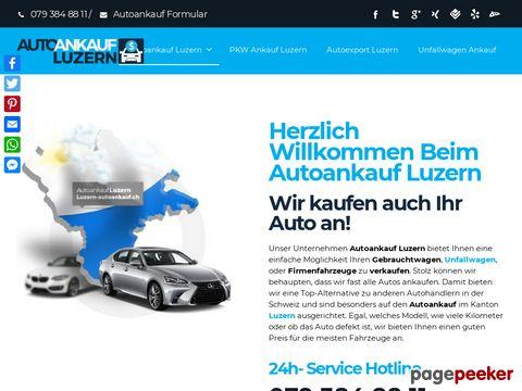 Autoankauf Luzern, Autoankauf zum Höchstpreis in Luzern!