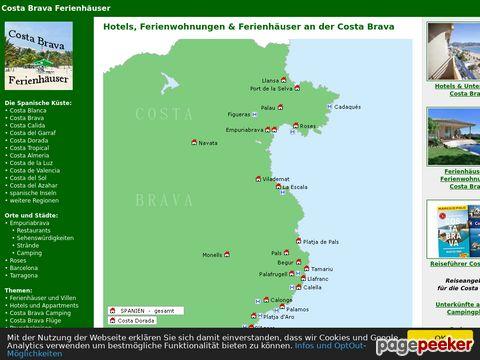 Costa Brava Ferienhäuser