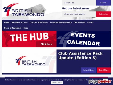 The British Taekwondo Control Board (BTCB)