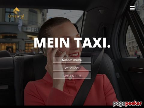 Oriental Taxi Bern |Bern Taxi | Flughafen Taxi Bern