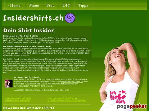 Insidershirts