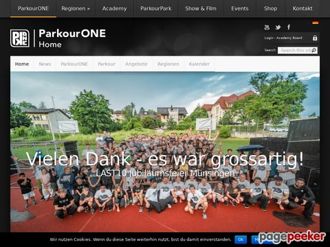 ParkourONE.de - Parkour - Deutschsprachige Community - Infos - Forum (DE)