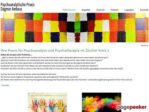 Psychoanalytische Praxis
