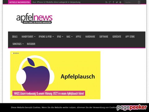 Apfelnews - Apple Mac & iPhone Magazin
