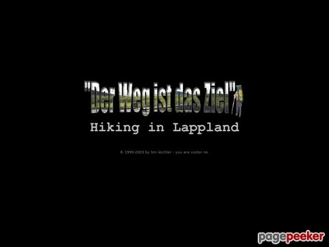 Kungsleden.de - Hiking in Lappland (Lappland)