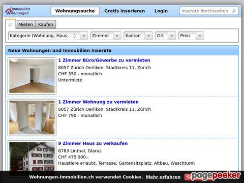 wohnungen-immobilien.ch - gratis Immo Inserate