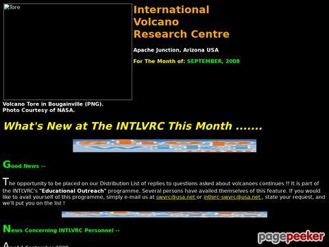 intlvrc.org - Current eruptions – Ständig aktualisierte Seite über laufende vulkanische Aktivitäten (englisch)