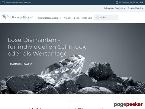 Diamanthaus - Spezialist für lose Diamanten im Internet