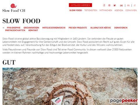 slowfood.ch - Slow Food