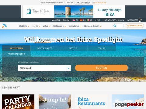ibiza-spotlight.de - Ibiza - Guide