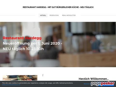 Restaurant HARDEGG - Swiss Food
