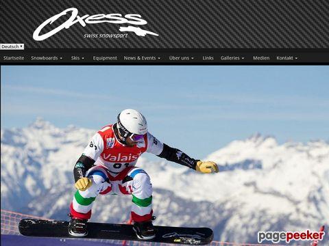 Oxess - swiss snowboard