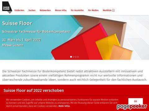 suissefloor.ch - Die Fachmesse für Bodenbeläge und Heimtextilien