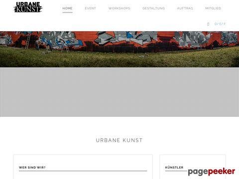 Urbane Kunst - Förderung der Kunstformen Graffiti und Street Art