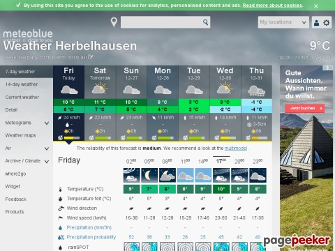 meteoblue.ch - Numerical Weather prediction