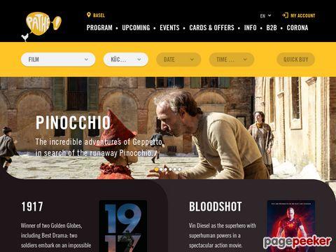 pathe.ch - Pathé Kinos in der Schweiz