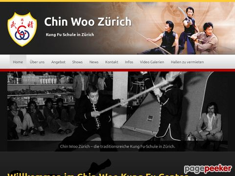 Chin Woo KungFu Center Zürich
