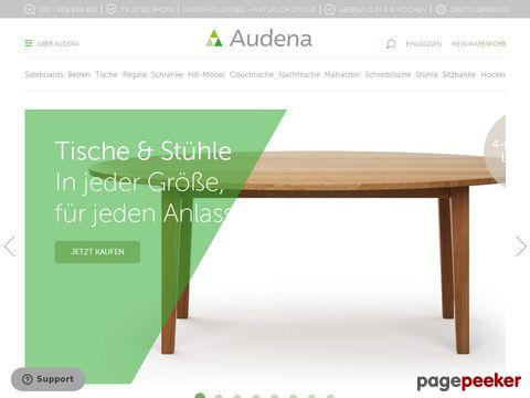 Audena - Individuell Leben. Esstische, Betten und mehr...