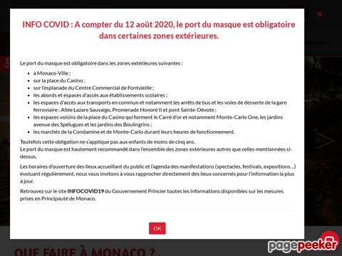 visitmonaco.com - Monaco Official Site