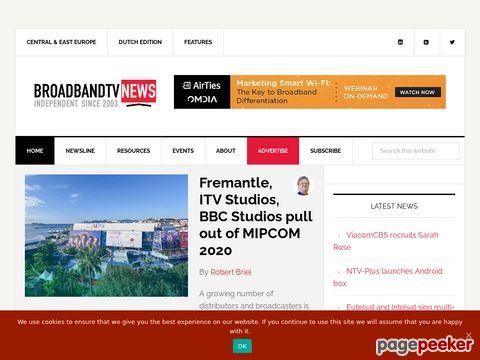 broadbandtvnews.com - Broadband TV News