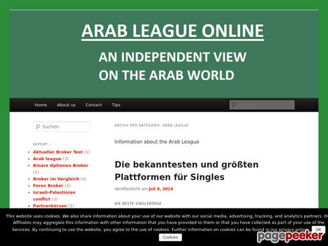 Arabische Liga - League Of Arab States