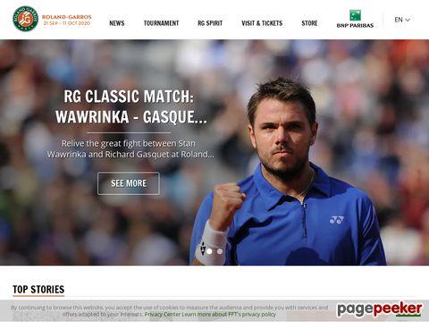 French Open - Roland Garros (Frankreich)