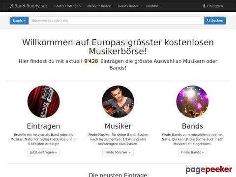 Musiker24.ch - Wo Musiker und Bands sich finden