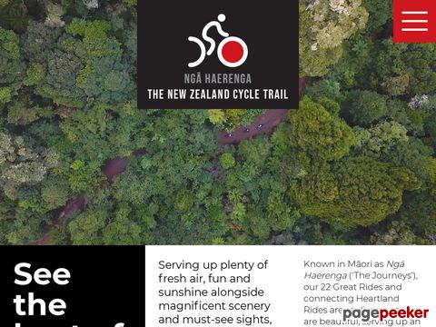 The New Zealand Cycle Trail - OFFICIAL WEBSITE (Neuseeland, NZ)