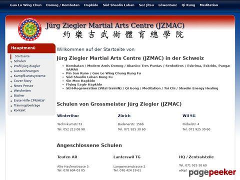 Kung Fu - Webseite von Jürg Ziegler