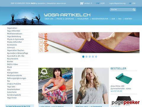 Yoga-Artikel.ch - Der Yoga-Shop in der Schweiz!