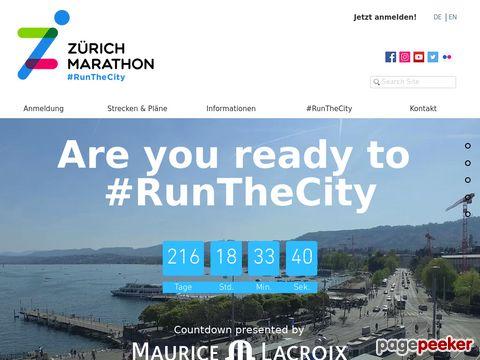 Zürich Marathon - Der Marathon von Zürich
