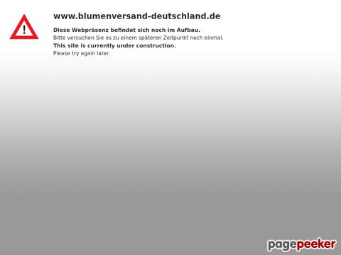 Blumenversand Deutschland: Blumen bestellen online