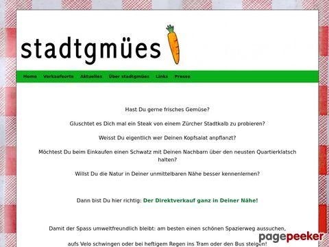 stadtgmues.ch - Zürcher-Direktverkauf ganz in Deiner Nähe! Übersicht über Anbieter!