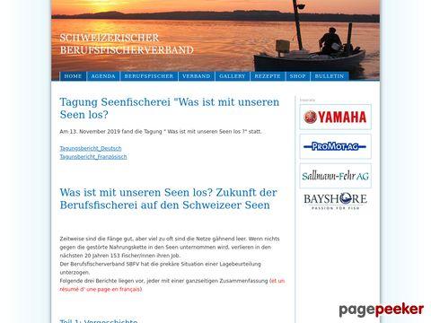 Schweizerischer Berufsfischerverband