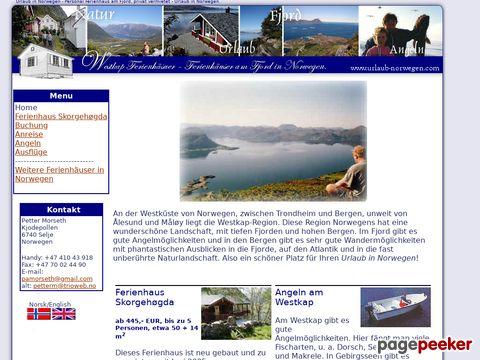 urlaub-norwegen.com - Urlaub in Norwegen