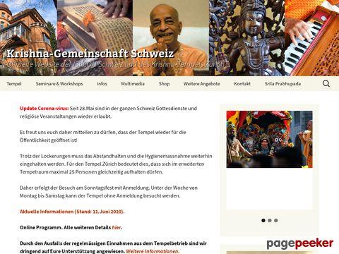 Krishna Gemeinschaft Schweiz