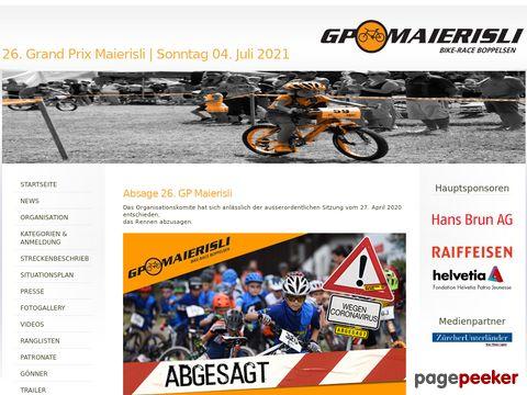 GP Maierisli - Boppelsen ZH (Schweiz)