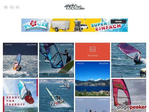 stehsegelrevue.de --- internet windsurf magazin