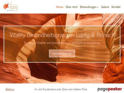 Vitality Gesundheitspraxis (Lupfig / AG)