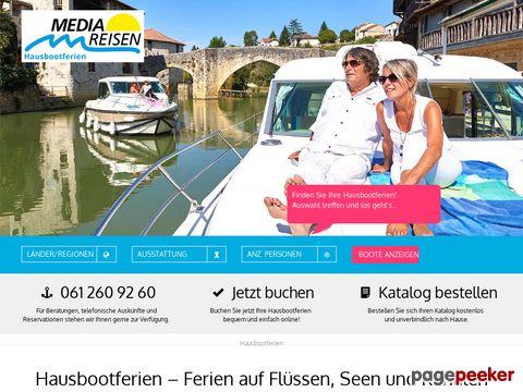 Hausbootferien, Hausboote in Frankreich und Deutschland