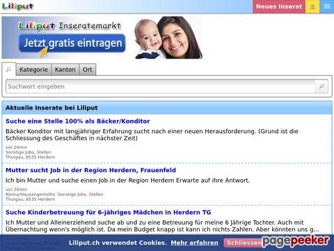 Liliput.ch - Liliput Familienwelt - Webseite rund um Familie & Kinderbetreuung