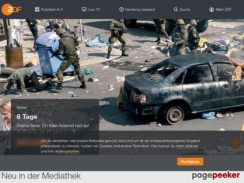 ZDFmediathek - Das ZDF - Videoportal - Videoarchiv