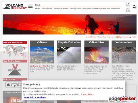 volcanodiscovery.com - Wanderstudienreisen zu aktiven vulkanen weltweit