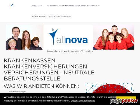 allnova.ch - Beratungsstelle Krankenkassen und Versicherungen