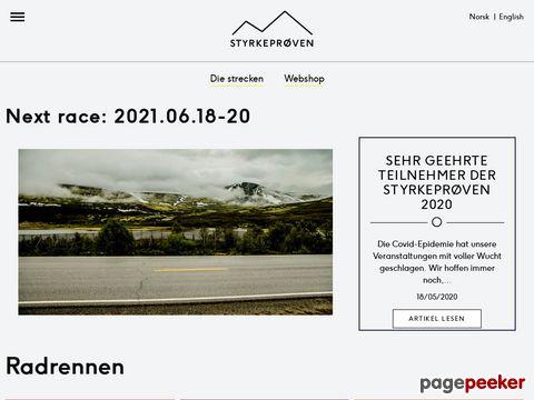 Styrkeprøven - von Trondheim nach Oslo (Norwegen)